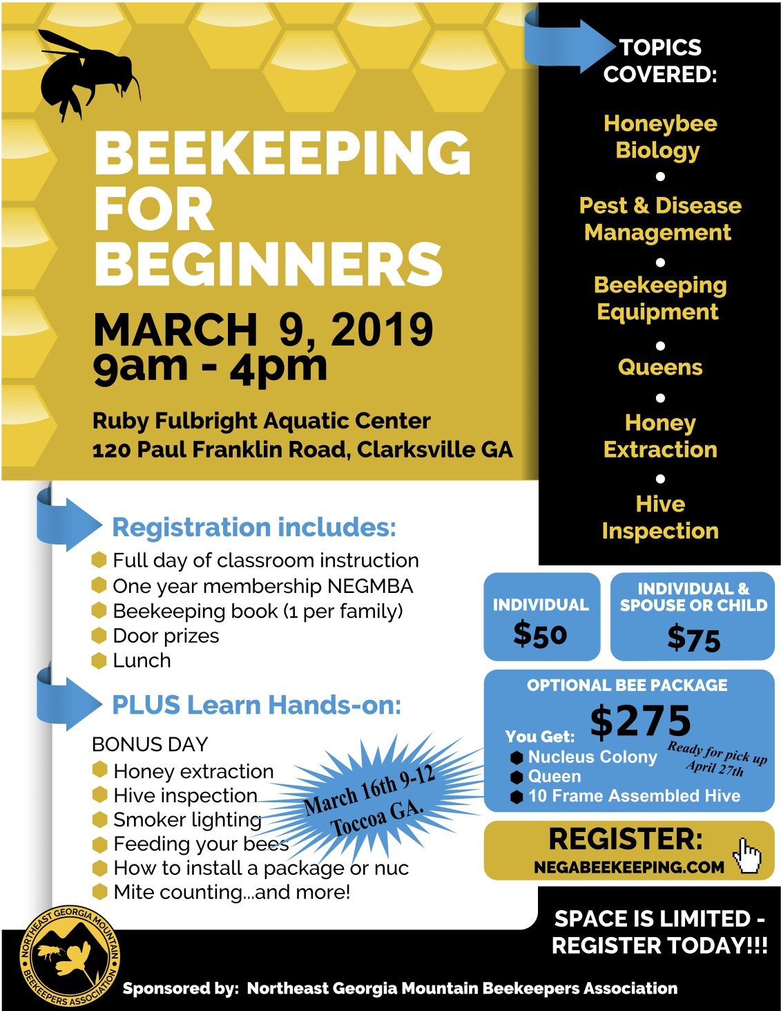 Beekeeping For Beginners @ Beekeeping For Beginners